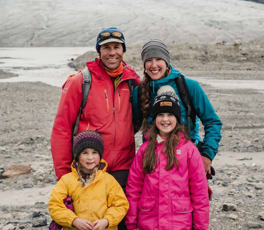 Corin and Megan Lohmann IceWalks Owners