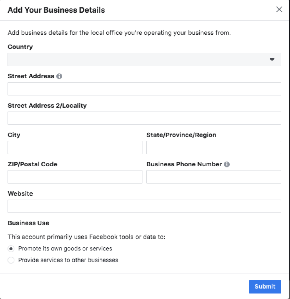 Get your Business Verified on Facebook Business Manager