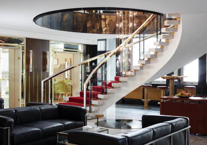 Sathya Ayurveda Bonn Lobby vom Living Hotel Kanzler