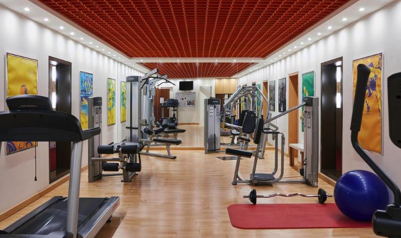 Sathya Ayurveda Bonn Fitnessraum vom Living Hotel Kanzler