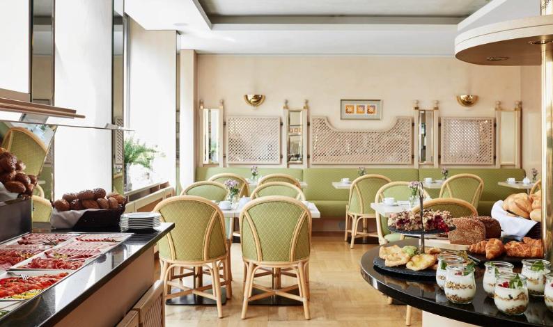 Sathya Ayurveda Bonn Speiseraum vom Living Hotel Kanzler