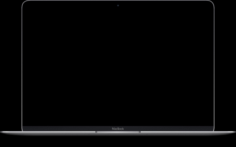 MacBook um dich durch die Projektseite zu scrollen