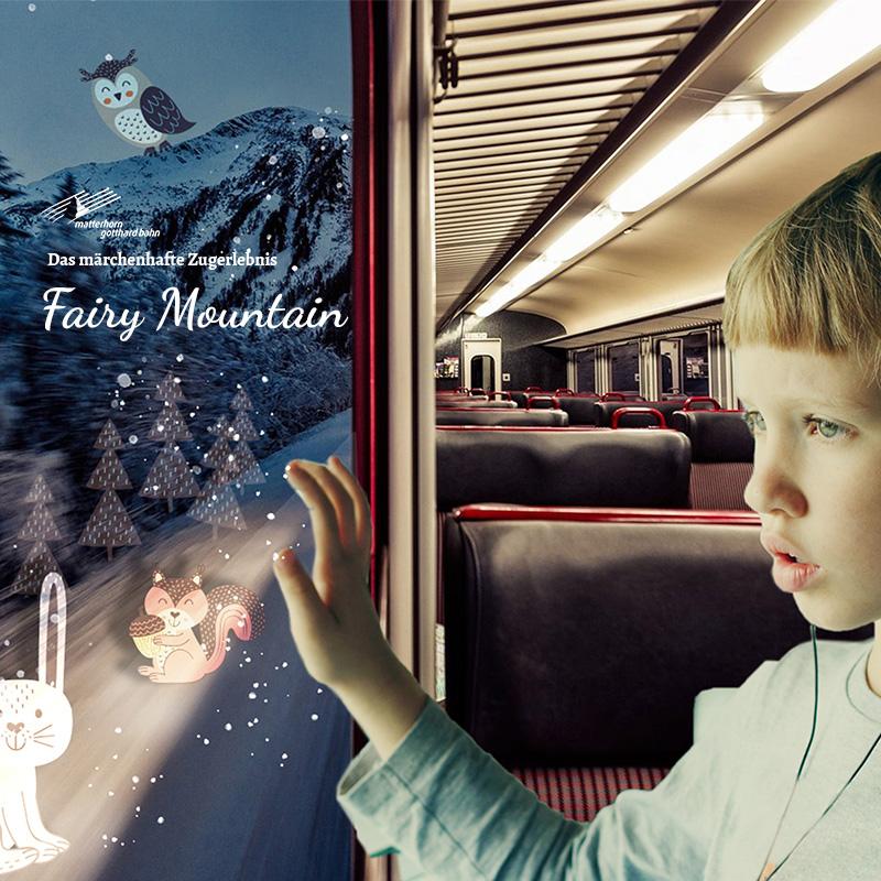 Ein märchenhaftes Zugerlebnis mit der Matterhorn Gotthard Bahn