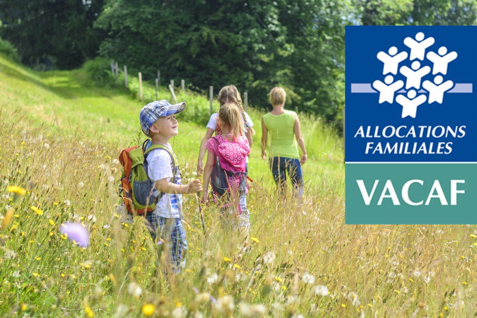 Partir en vacances grâce à VACAF !