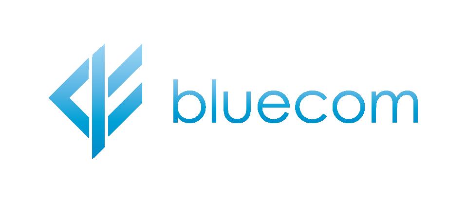 bluecom logo