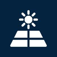 bluecom photovoltaik icon