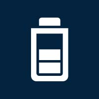 bluecom stromspeicher batterie icon