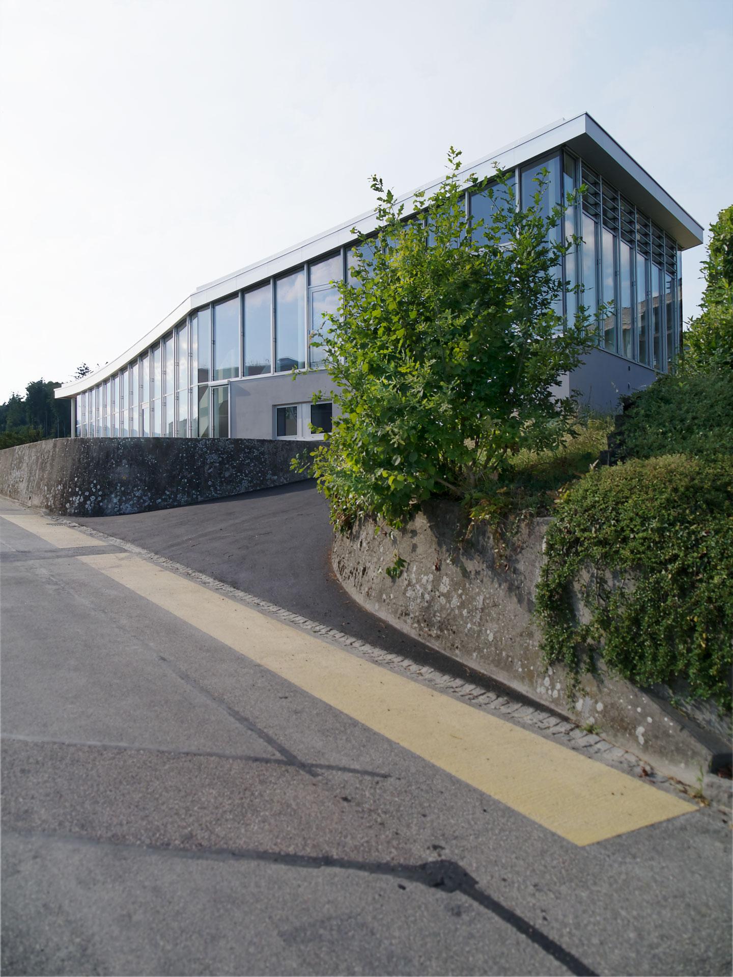 Der Auftakt zum Primarschulcampus an der Schulhausstrasse in Orpund