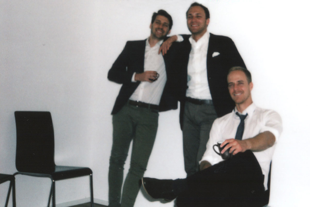 Die drei Gründungspartner von MMXVI