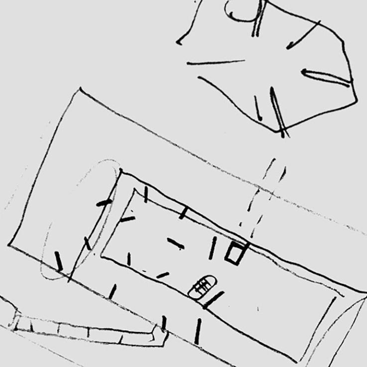 Strukturskizze beider Häuser an der Rechenettestrasse