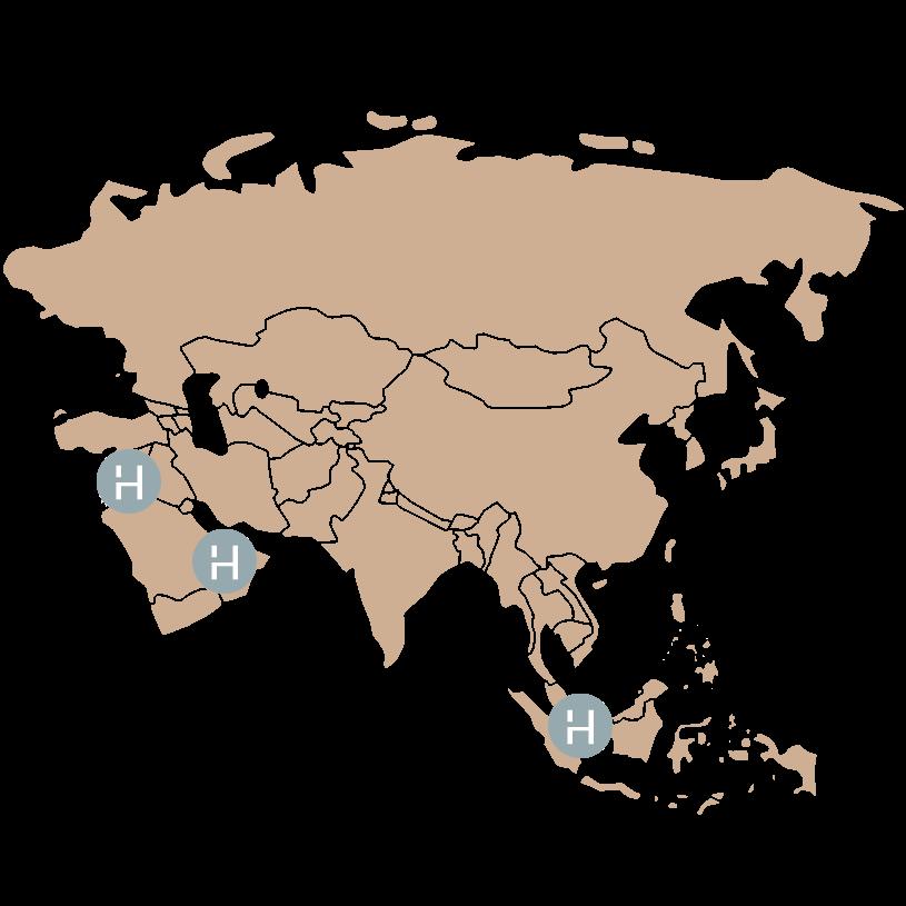 Asia Locations