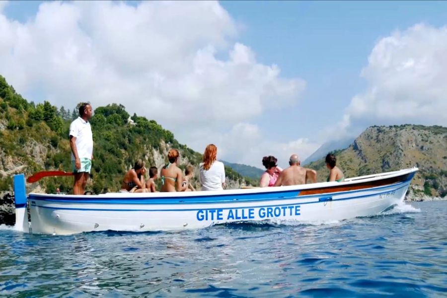 Gita in Barca a Palinuro