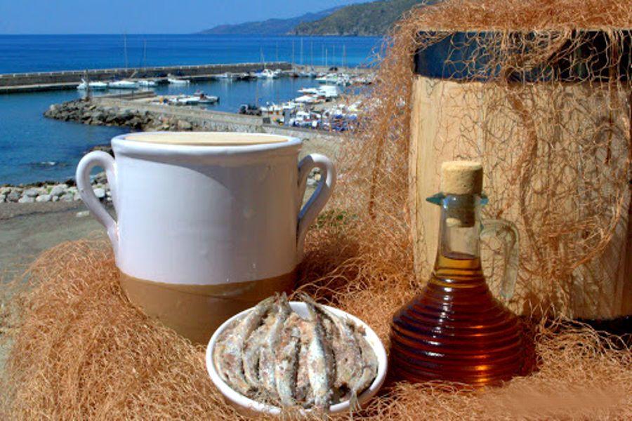 Alici di Menaica- Presidio Slow food a Marina di Pisciotta