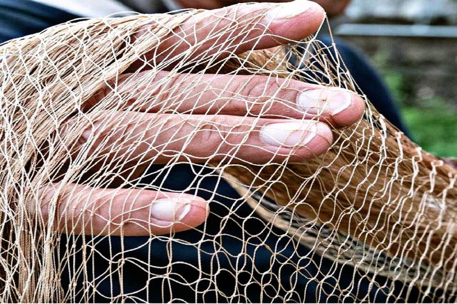 rete da pesca menaica