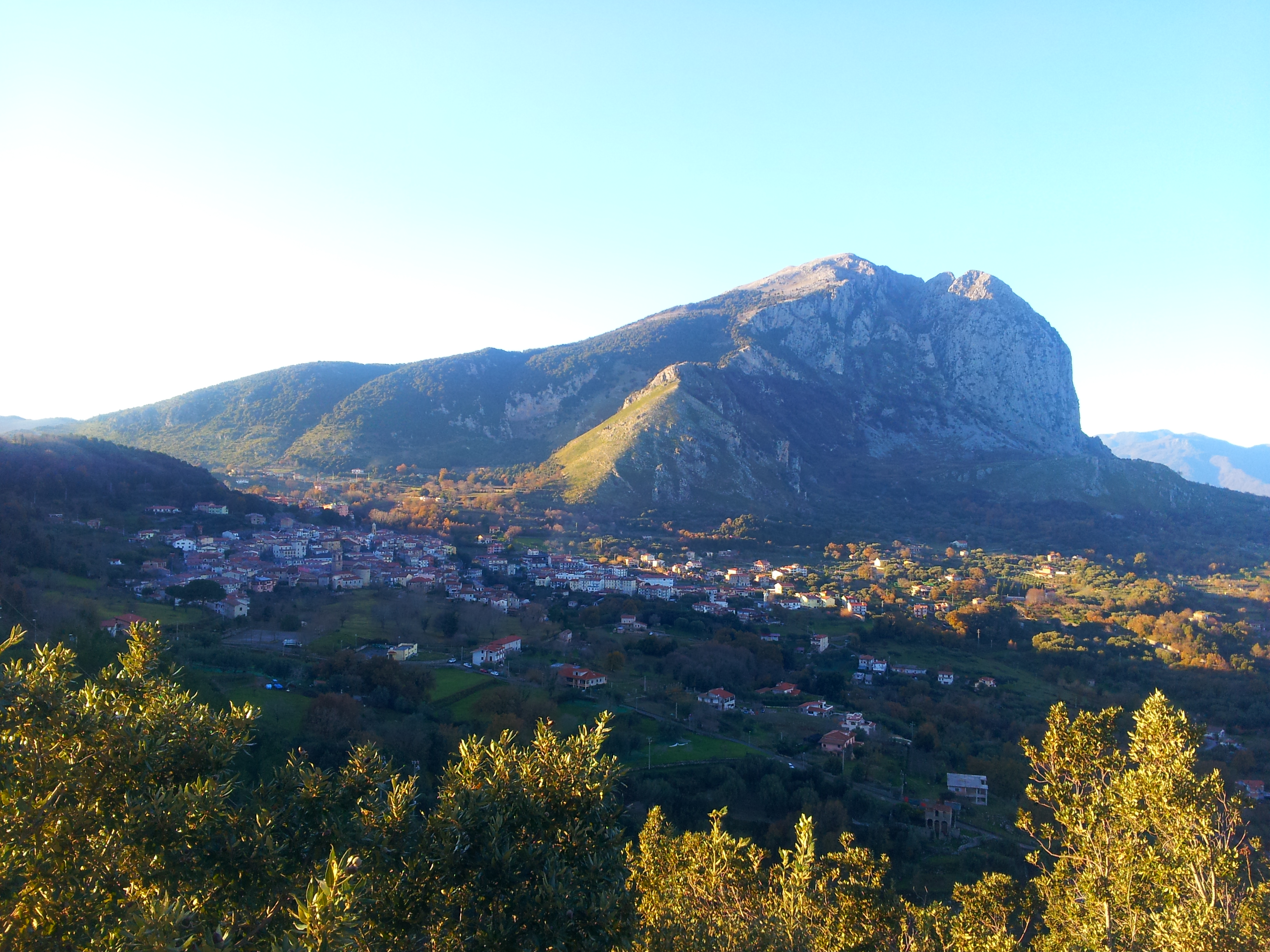 Il monte Bulgheria nel Cilento