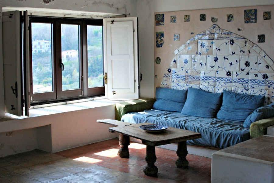 Salotto  casa Ortega Bosco