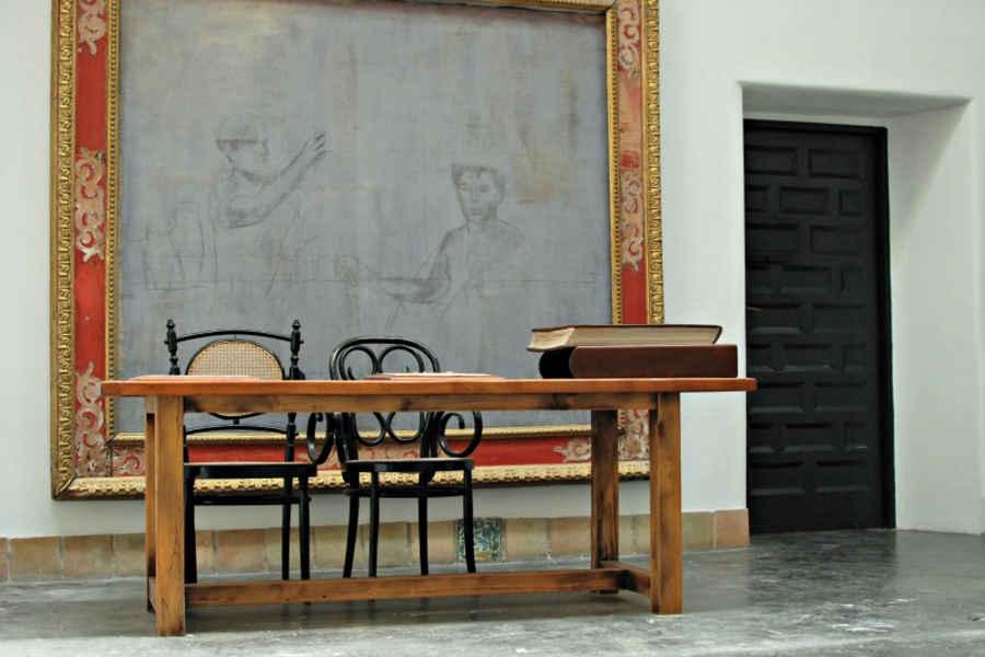 Scrivania Studio casa Ortega Bosco
