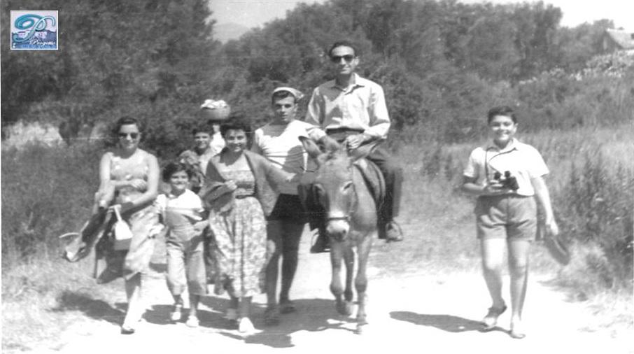 Anni '40 – '50, da Centola all'Arco Naturale di Palinuro e alla Marinella.