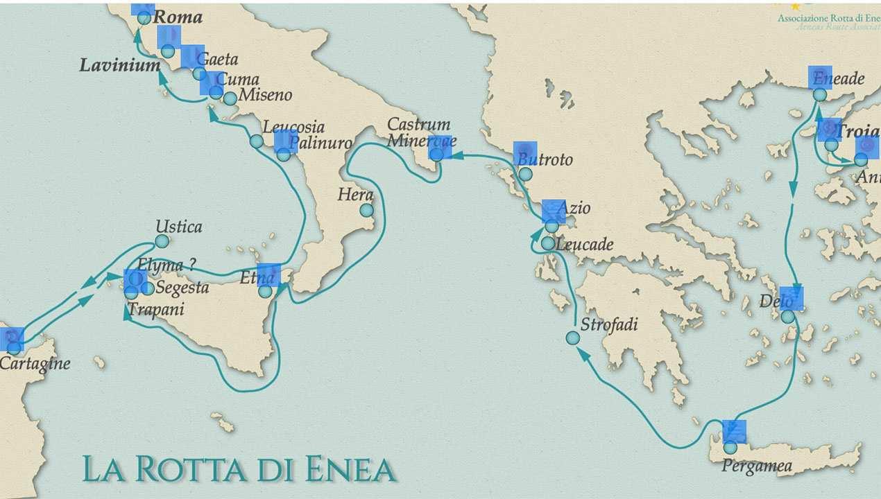 """Cilento: la UE certifica """"La rotta di Enea"""" quale itinerario culturale"""