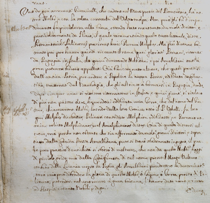 Mannelli, p. 43v, sul fiume Molpa