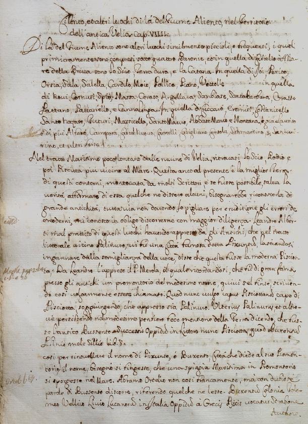 Mannelli, su Pisciotta, p. 41r