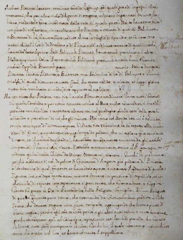 Mannelli, su Pisciotta, p. 42v