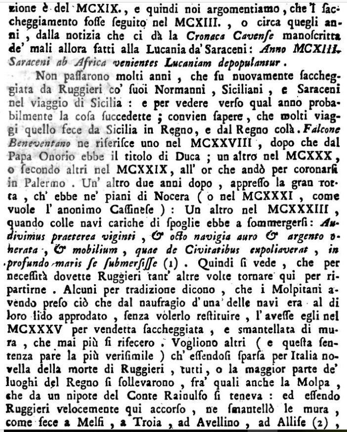 Antonini, su Ruggero I e la Molpa, p. 371