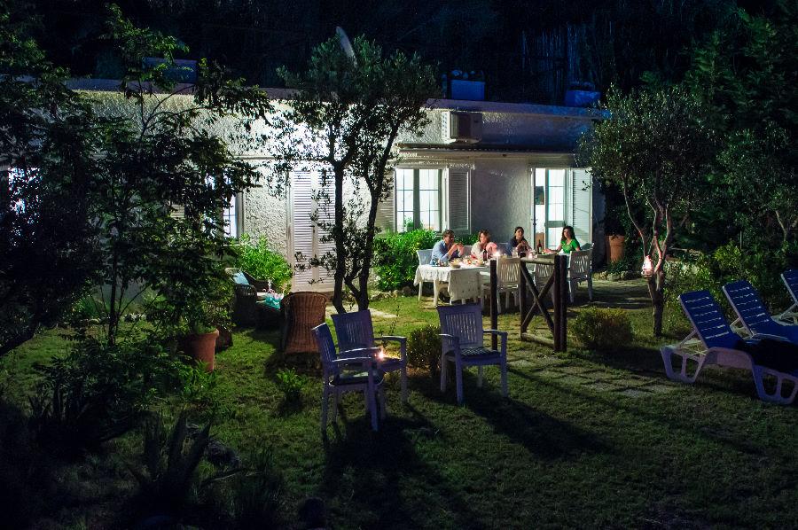Cena in Riva al Mare Villa Saline