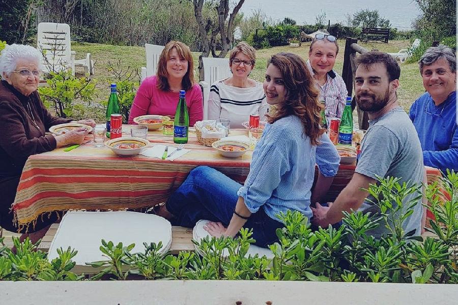 Pranzo in giardino Villa saline