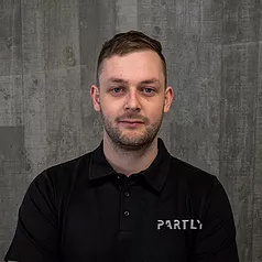 Partly startup co-founder Levi Fawcett