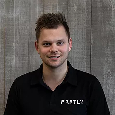 Partly startup co-founder Nathan Taylor