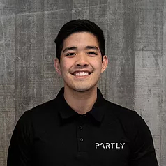 Partly startup co-founder Mark Song