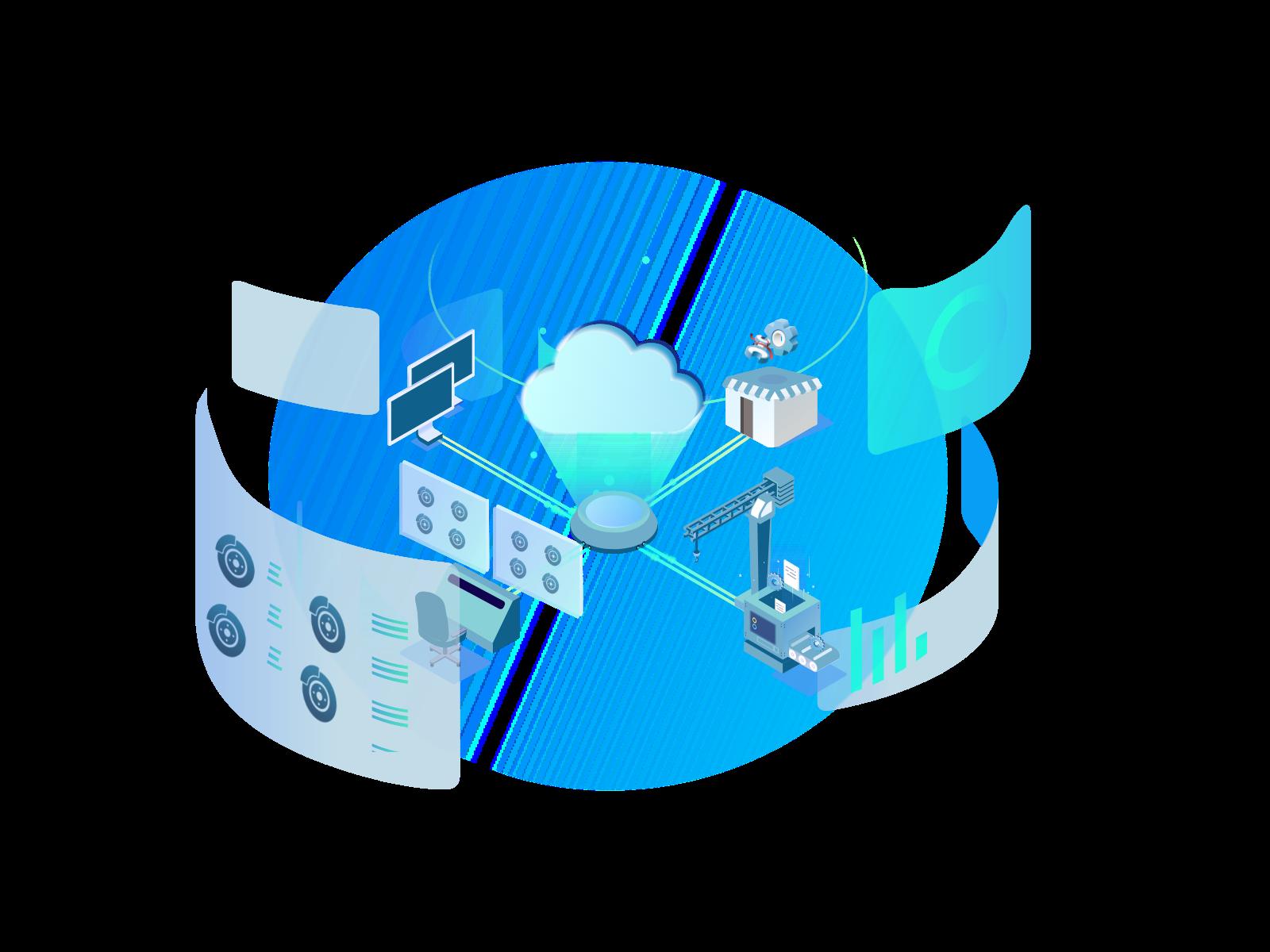 Fitment Data API illustration showing database