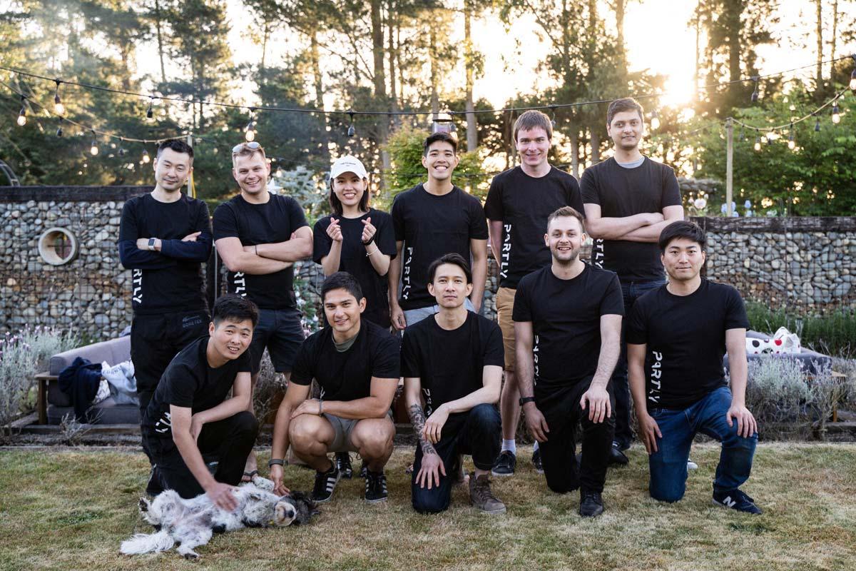 Photo of the team altogether