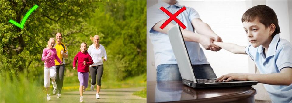 """Tập thể dục là bí quyết """"vàng"""" giúp bạn bảo vệ sức khỏe. Đồ họa: Hồng Nhật"""