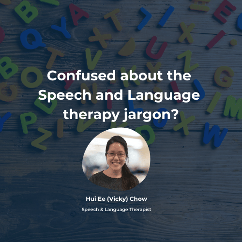 Confused about the Speech and Language therapy jargon?