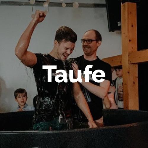 Wir lieben es, Menschen auf ihrem Weg mit Jesus zu begleiten. Die Taufe ist ein wichtiger Schritt auf diesem Weg.