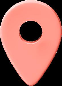 Eine Illustration eines Standort-Icons