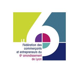 Logo commerçants du 6eme