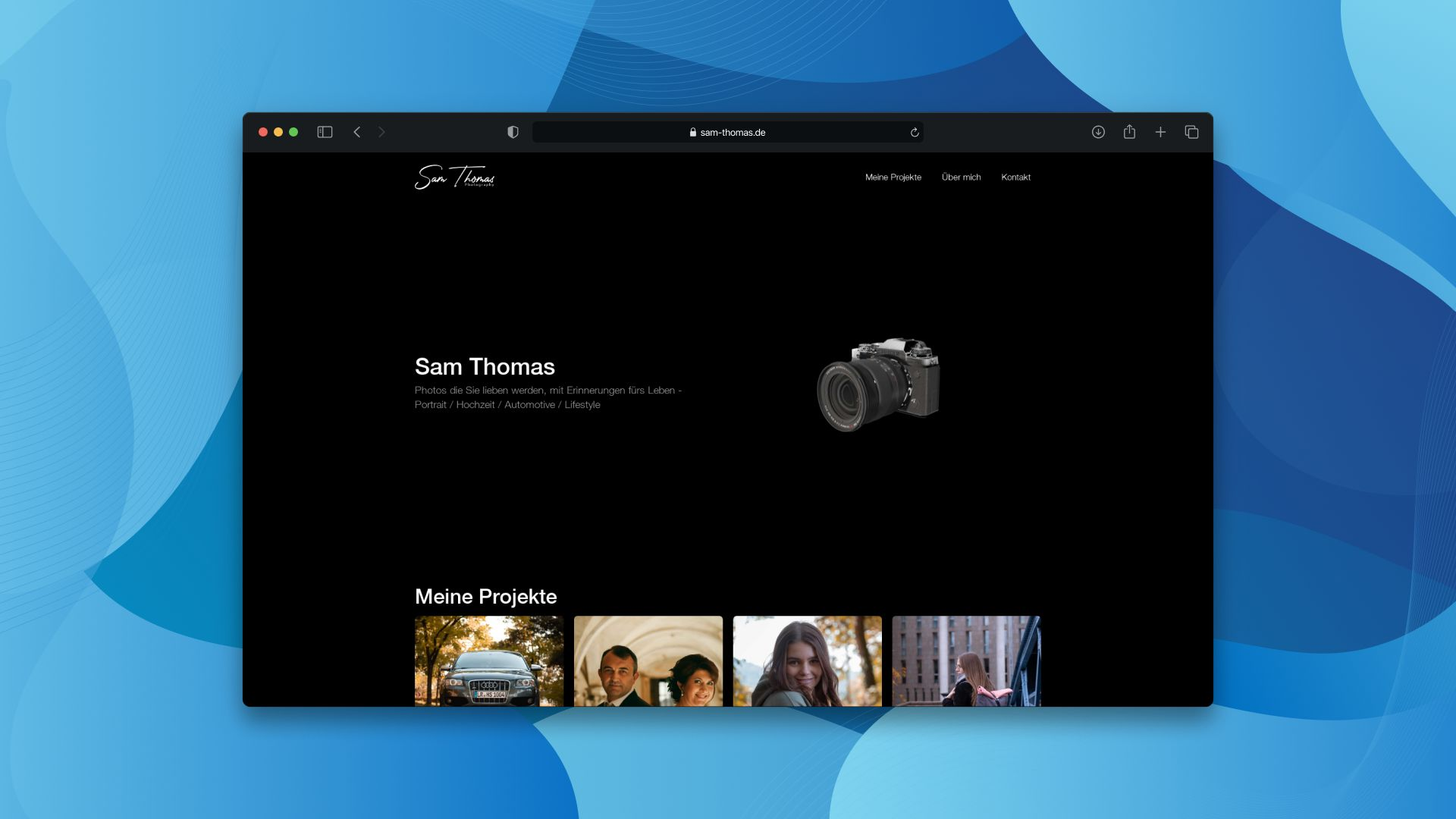 Ein Screenshot unseres Projektes: H-Werk Lahr.