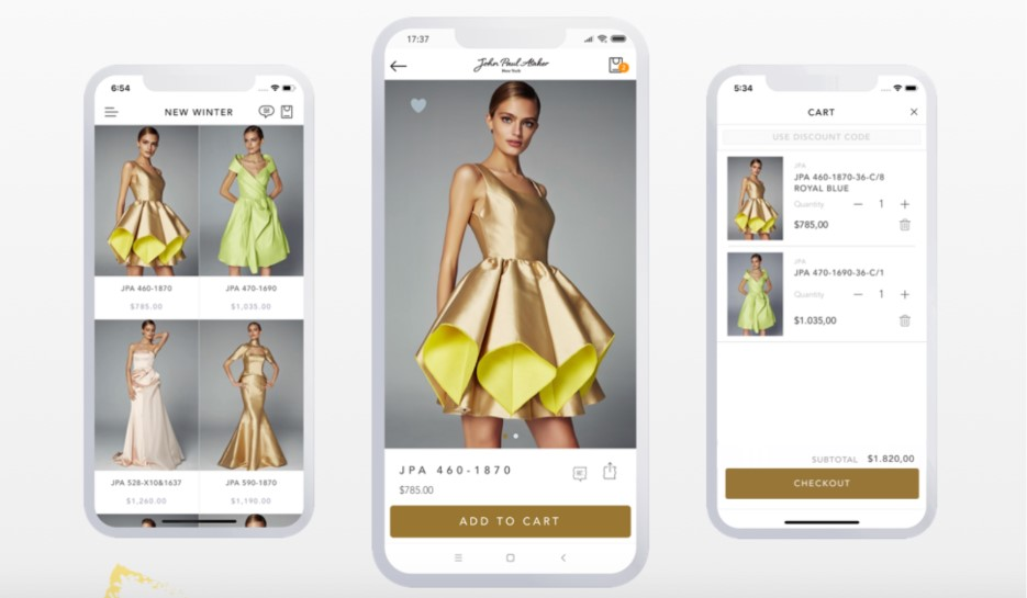 Shopney is a mobile app builder for Shopify brands