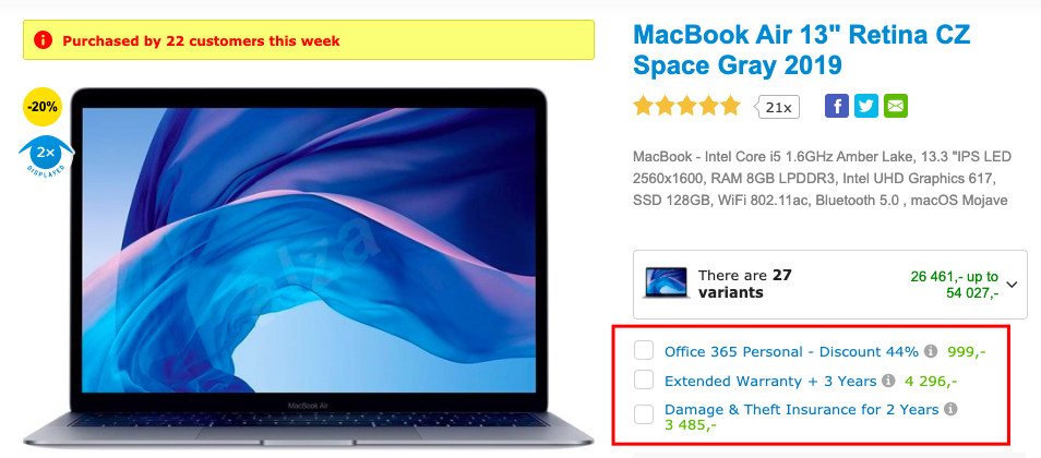 tech cross-sells