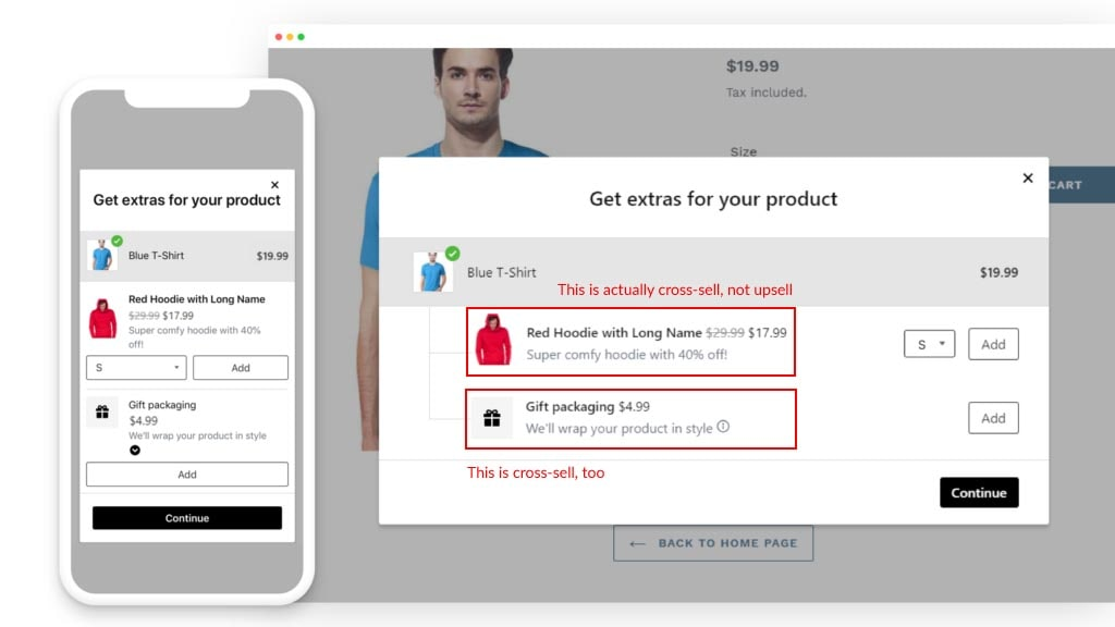In fact, most of the merchants on Shopify are doing cross-selling