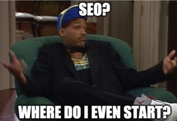 SEO Meme – Where do I even start with Will Smith