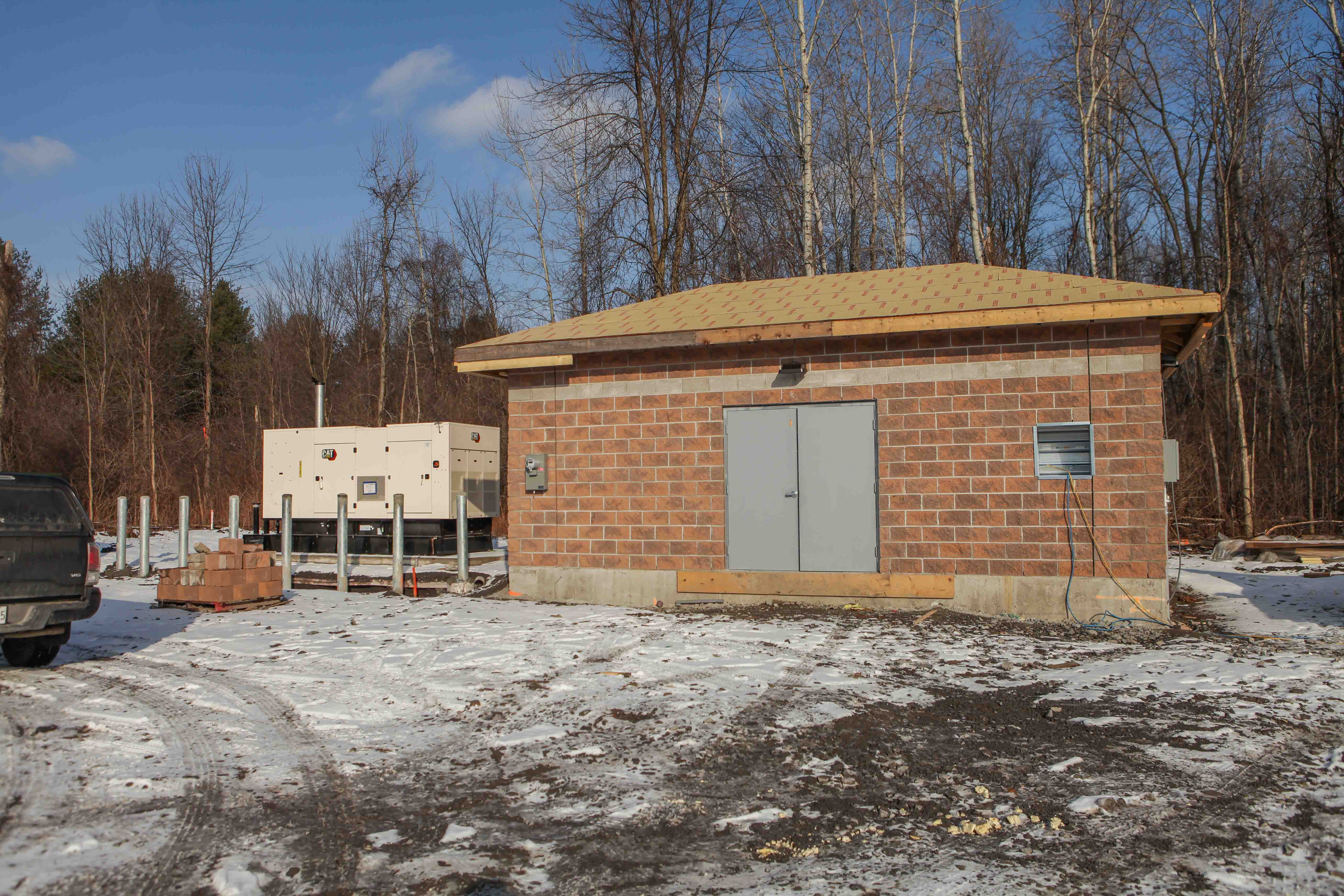Brookdale North Sewer extension facility