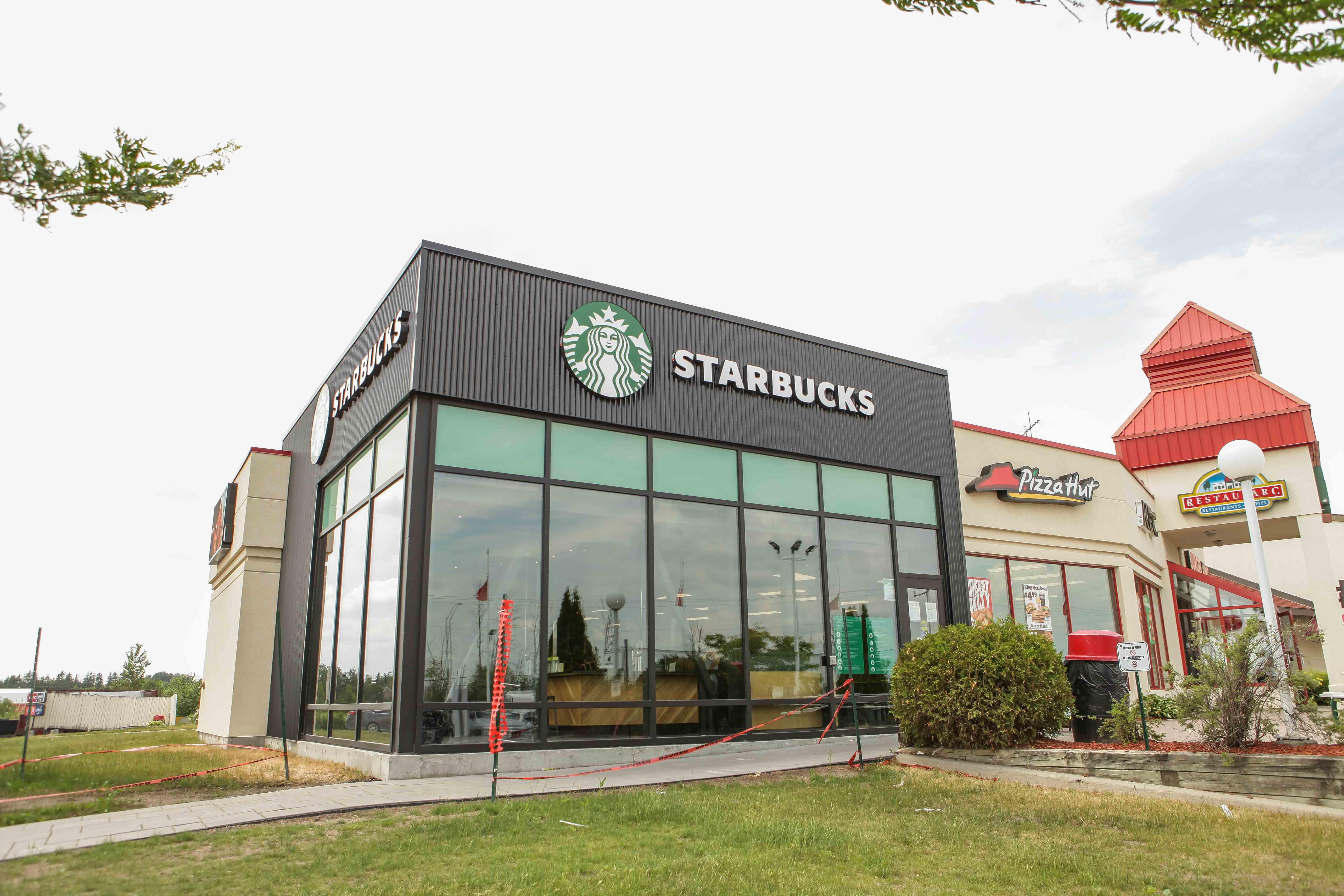 Exterior photo of Starbucks in Casselman