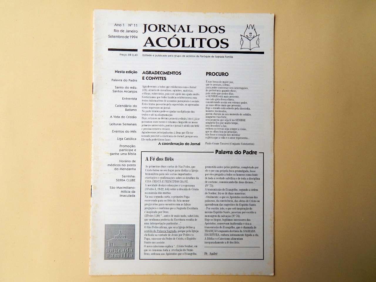 Jornal dos Acólitos