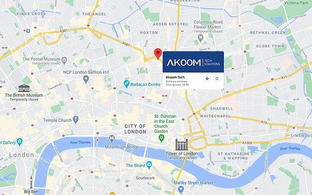 Akoom Tech Office Address