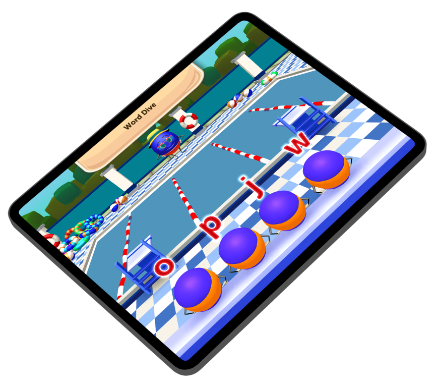 Devices presenting Appligogiques games.