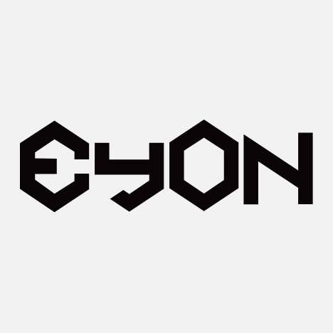 A geometric logo type